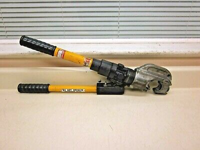 Huskie Tools Ep-430 12-ton Hand Crimping Tool Free Shipping
