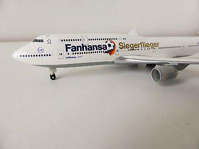 Lufthansa SIEGERFLIEGER Boeing 747-8 1/500 Herpa 527187 747 Fanhansa Potsdam
