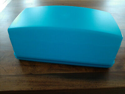 Tupperware Junge Welle Kastenkuchen Behälter blau   - NEU & OVP  **