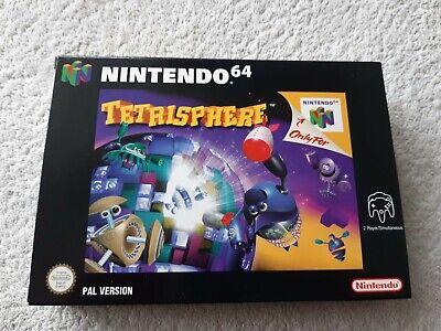 TETRISPHERE ~ Nintendo 64 N64 PAL Boxed & Complete Collectors