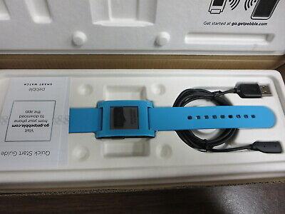 New - Pebble Smartwatch Classic for iPhone Android - Color Blue - 301BU comprar usado  Enviando para Brazil
