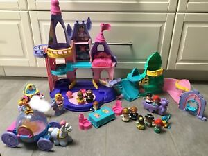 Little people castle and princess