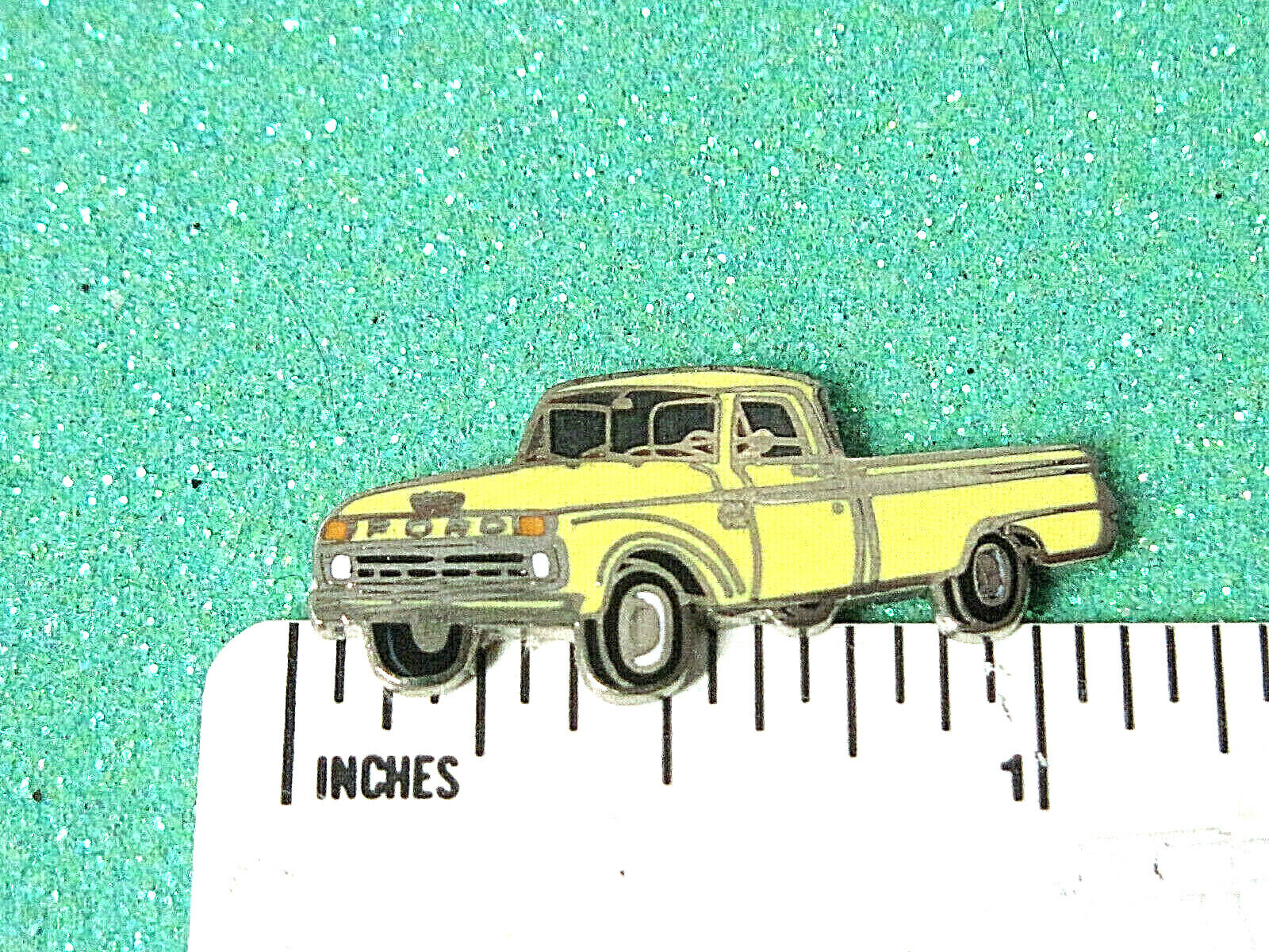 65 1965 FORD TRUCK (sixties) - hat pin , lapel pin , tie tac , hatpin GIFT BOXD