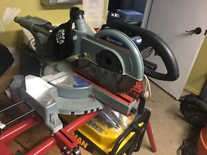 "King Canada 10"" sliding compound miter saw"