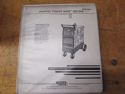 Lincoln Electric Invertec Power Wave 350500 Service Manual