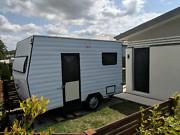 12ft Caravan. Business space, Air Bnb, retreat or granny flat Mount Cotton Redland Area Preview