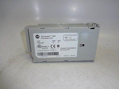 Allen-bradley Micrologix 1500 Processor Unit 1764-lsp Ser C Rev F Frn 11 Tested