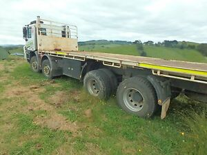 Tatra 8x8 tray truck for sale - legal to carry 26 ton Toora South Gippsland Preview