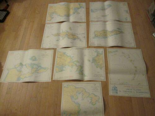 8 Caribbean Yachting Nautical Publications Charts 1997 GmbH Arnis Nice