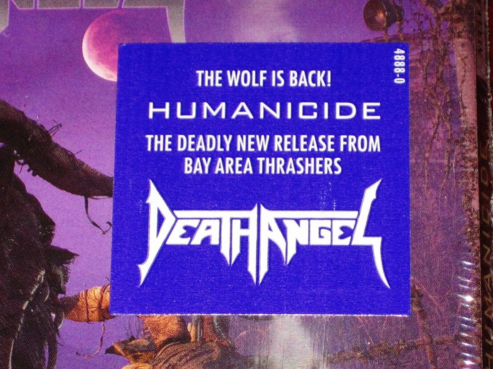 Death Angel: Humanicide CD 2019 Bonus Track Nuclear Blast USA 4888-0 Digipak NEW