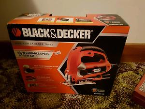 Black & Decker 600w Jigsaw Highclere Burnie Area Preview