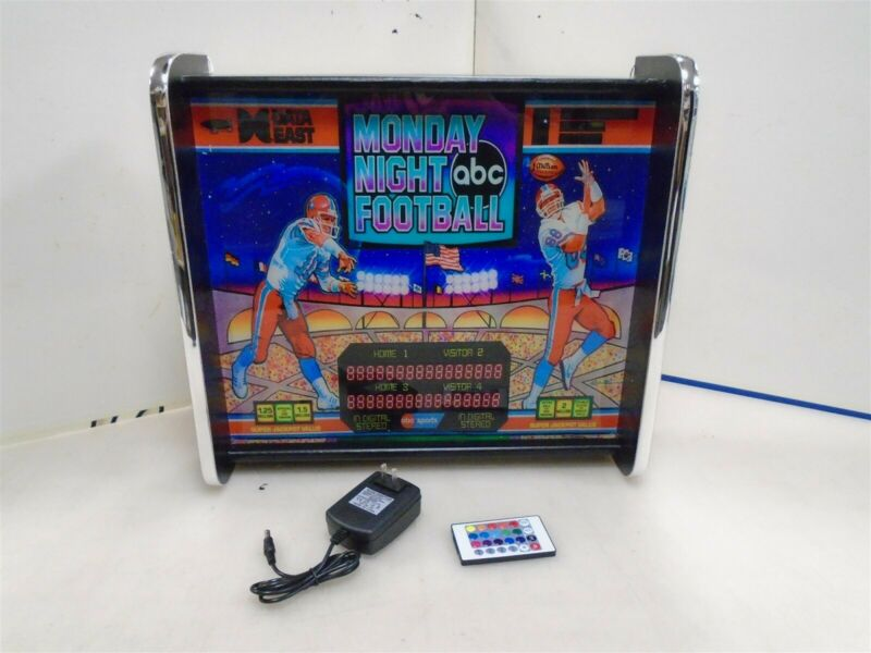 Monday Night Football Pinball Head LED Display light box