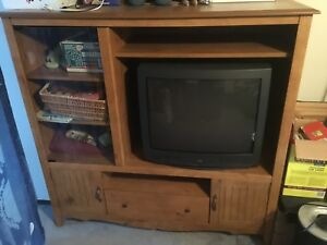 27 inch TV and Entertainment Unit