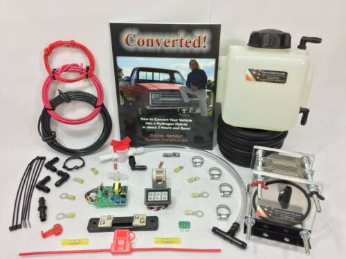 21 Plate HHO Dry Cell Kit W/ Electronics HydroCell Electrolysis