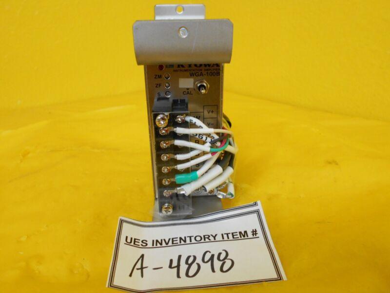 Kyowa Instrumentation WGA-100B-01 Amplifier Used Working
