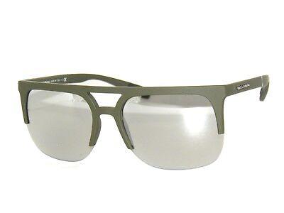 SALE!DOLCE & GABBANA 6098 RUBBER OLIVE GREEN/MIRROR 3011/6G (Dolce Gabbana Sunglasses Sale)
