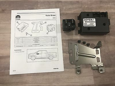 2016 2017 2018 Ram 1500 2500 3500 OEM Trailer Brake Module Kit 82215040AB