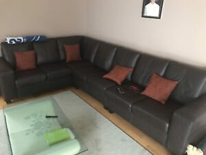 7 seater L shape couch