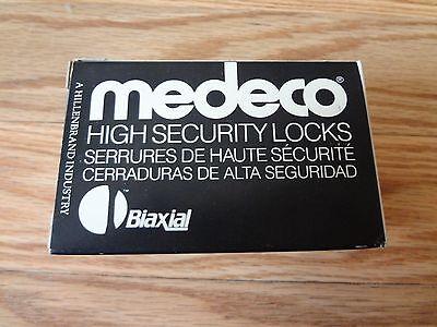 Medeco High Security 20w20073-26-e3s Sargent Knob Lock Cylinder Satin Chrome