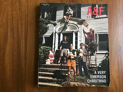 Abercrombie & Fitch 2000 Christmas Catalog A&F Quarterly Bruce Weber