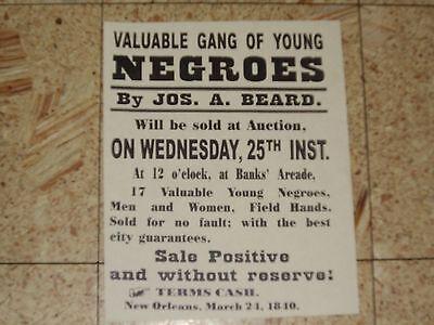 5 Black Americana Negroe Colored People Historical Posters Vintage Slave History