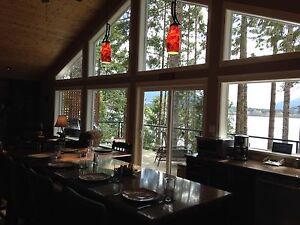 Lake Cowichan water front house for rent