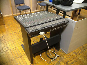mackie 24e 24 e sidecar mixer mixing expansion console channel nice w stand nr ebay. Black Bedroom Furniture Sets. Home Design Ideas