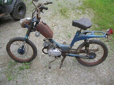 1974 benelli moped