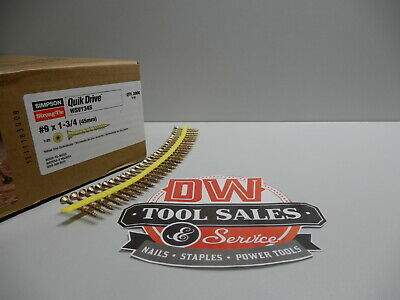Quick Drive 9 X 1 34 Inch Sub Floor Screws Strong Drive Collated 2000