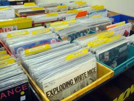 LP RECORDS VINYL MUSIC LIQUIDATION SALE RECORD FAIR