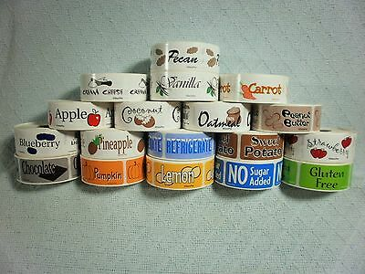 Decopac Bakery Labels   500Pcs Roll   Kvsfcp642r0118
