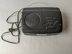 Sony ICF-CD810 Stereo Dual Alarm Clock Radio CD Player AM/FM TESTED WORKING