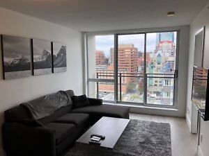 Furnished Sub-Penthouse 1 bedroom in Yaletown - For Rent
