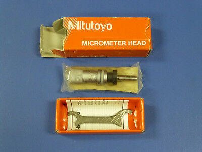 New - Mitutoyo 148-122 Micrometer Head 0.5 Range Lockable Mhs2-.5l