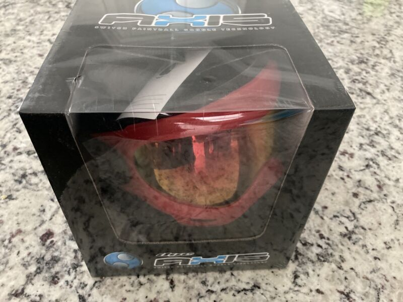 Dye Axis Pro Mask Goggle Red Bronze Fire Paintball