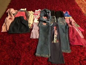 Bundle of girls size 4 clothes just $10 the lot