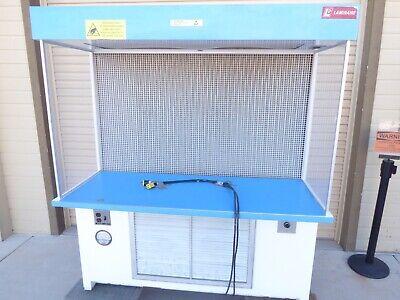 Laminar Cs Series Flow Station 536-cs Console Slimline Clean Air Workstation