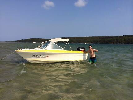 Haines Hunter 50Hp Mercury 15Ft with trailer Grays Point Sutherland Area Preview