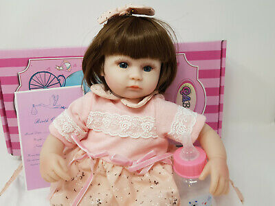 """16"""" Baby Doll Reborn Soft Vinyl Silicone Doll Clothing & Accessories - Light"""