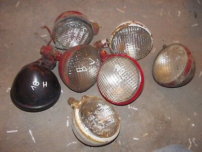Farmall H M A Sa C Sc B Bn Tractor 7 Original Front Ih Light Lights