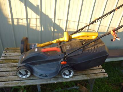 Electric Lawn Mower and Whipper Snipper