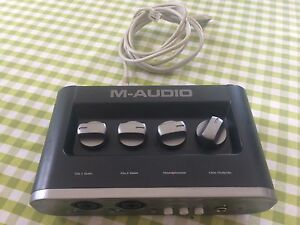 Interface - M-Audio MobilePre Recording Interface