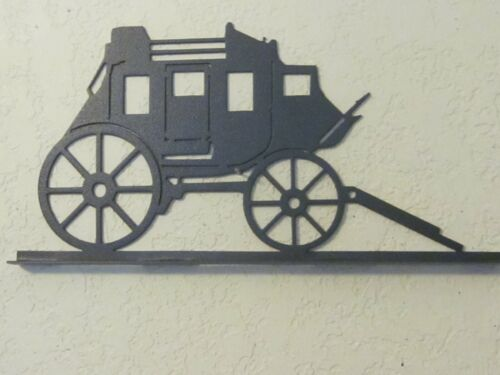 STAGECOACH  MAILBOX TOPPER (NO NAME) TEXTURED BLACK POWDER COAT FINISH