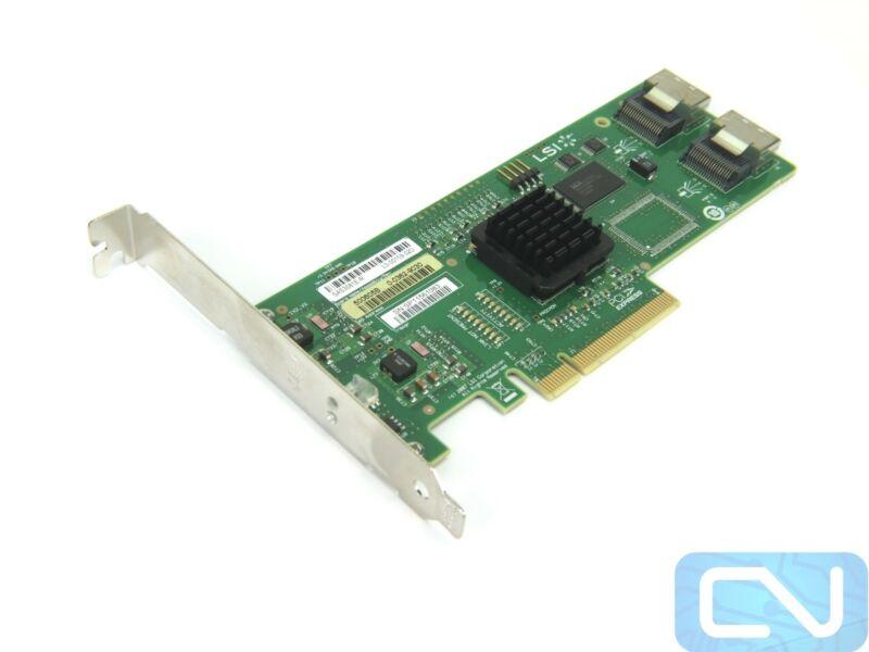 LSI MegaRAID SAS3081E-R 8-port Internal SATA 3Gb/s / SAS RAID Controller Card