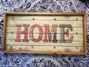 """""""Home"""" sign that lights up"""