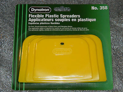 1  2  3  4  Or 5 Packs 3M Dynatron Body Paint Flexible Plastic Spreaders Bondo
