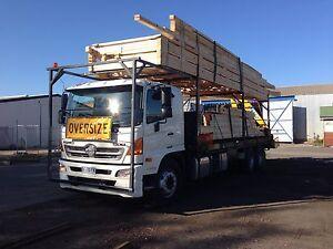 Crane truck hire. Total Lift Transport Launceston Launceston Area Preview