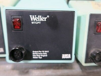 Weller Pu120t Wtcpt Soldering Station Power Supply Tested Working Pull A7s5
