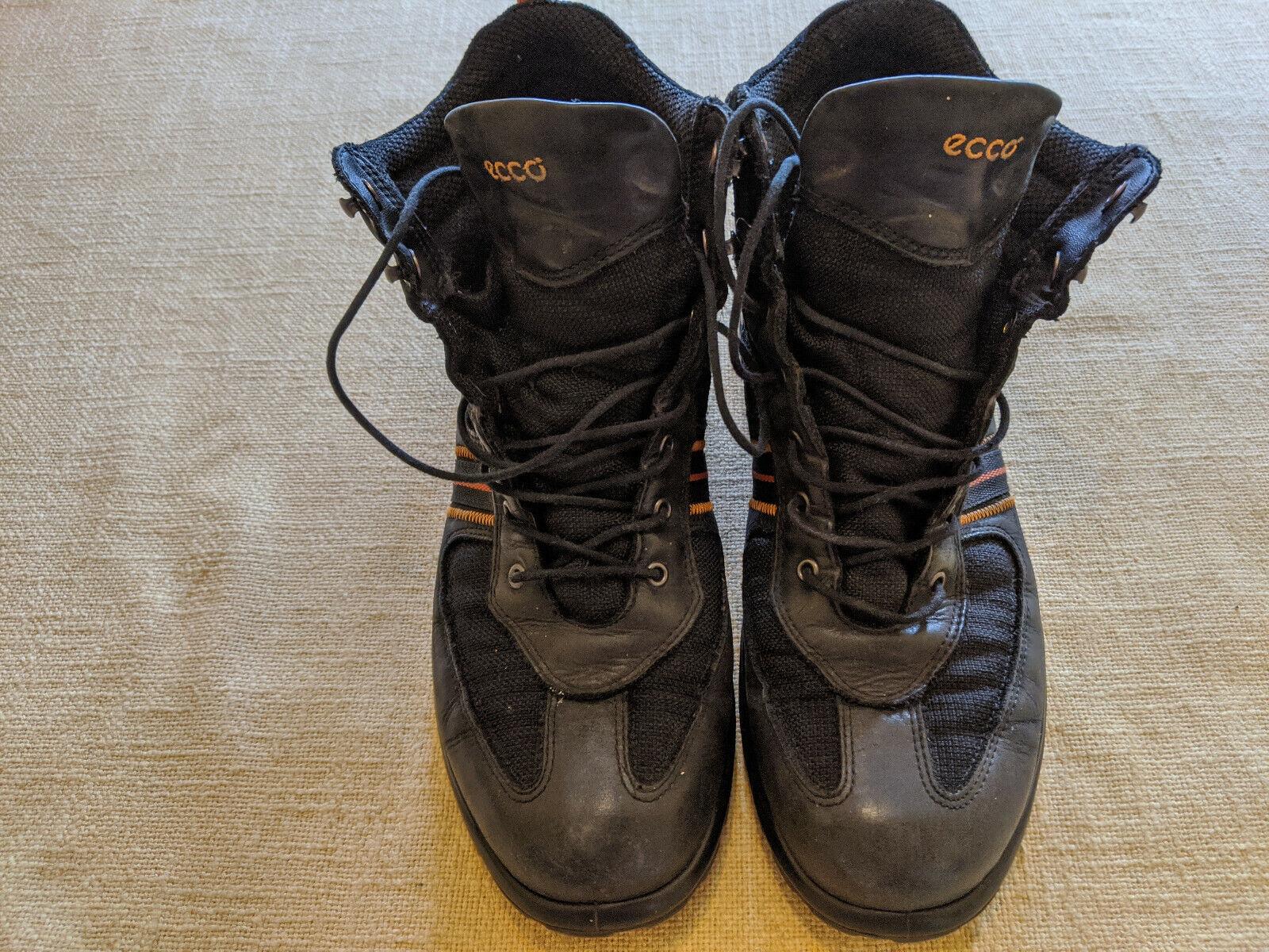 ECCO schöne Boots, Wanderschuhe Gr. EU 41, schwarz, guter Zustand