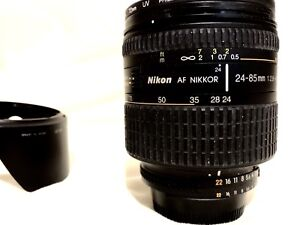 Nikon 24-85mm f2.8-4 macro lens